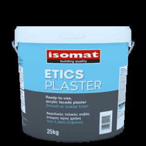 Etics Plaster Σοβάς Ακρυλικός 1.5mm Εξωτερική Θερμοπρόσοψη