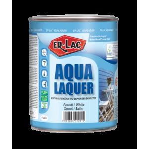 Ρεπουλίνη Aqualaquer Eco 2.5lt Gloss Λευκή Ρεπουλίνες